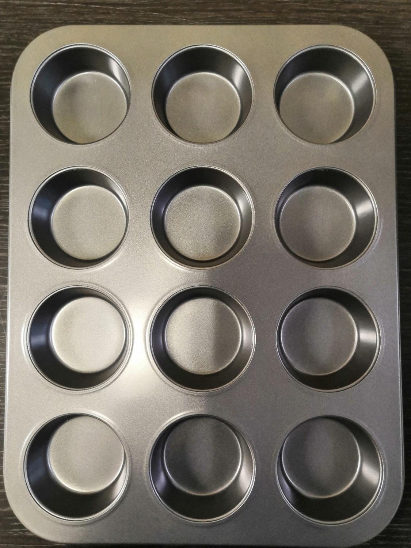 Форма для выпечки с антипригарным покрытием 12 ячеек