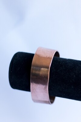 "1"" Wide Pure Copper Bracelet [Smooth]"