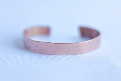 Slim or Medium width Pure Copper Bracelet [Smooth]