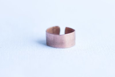 Cuff Copper Ring [Smooth]