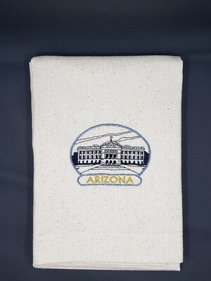 Arizona Capitol Osnaburg Towel