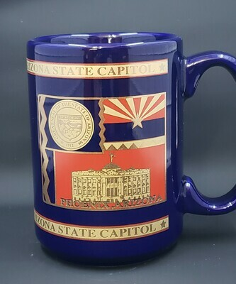 Mug-Cobalt Blue 3 Square