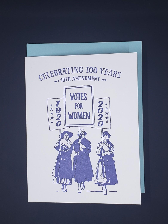 19th Amendment Blank Card