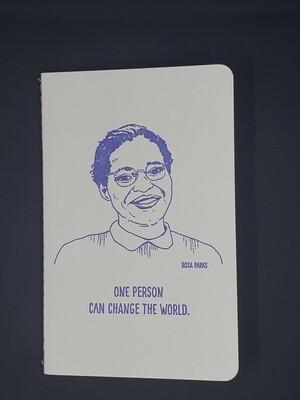 Rosa Parks notebook