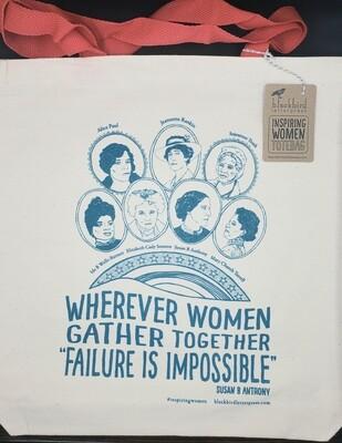 Inspiring Women Canvas Tote