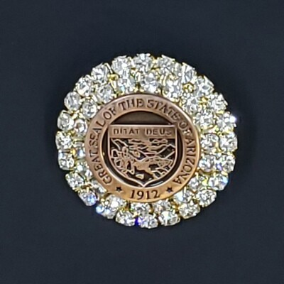 State Seal Brooch