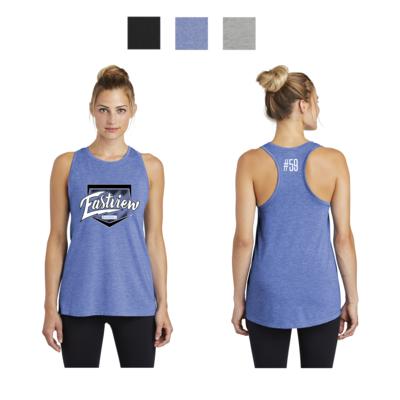 Eastview Baseball Sport-Tek ® Ladies PosiCharge ® Tri-Blend Wicking Tank