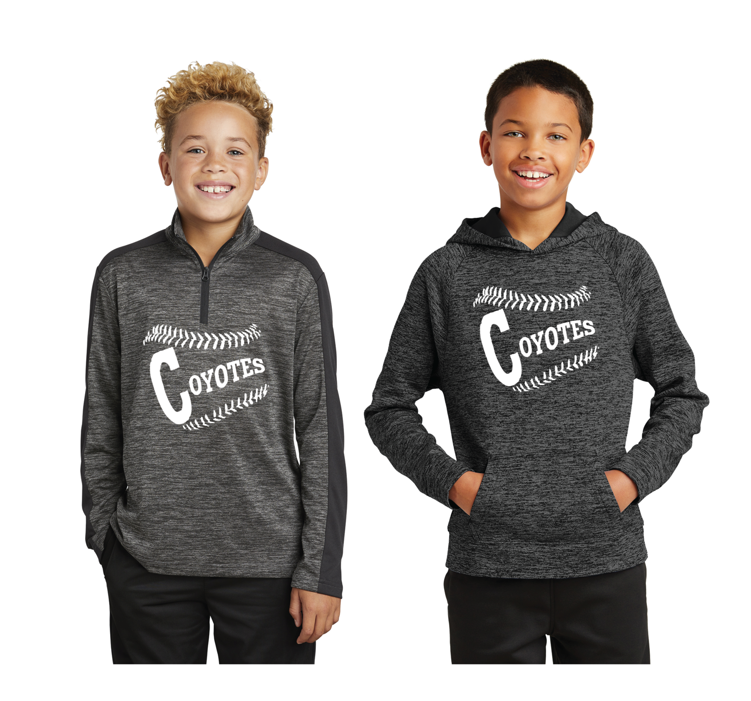 Sport-Tek ® Youth PosiCharge ® Electric Heather Pullover