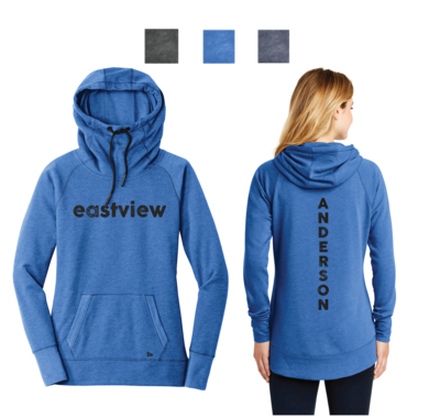 Eastview Lightning - New Era® Ladies Tri-Blend Pullover Hoodie