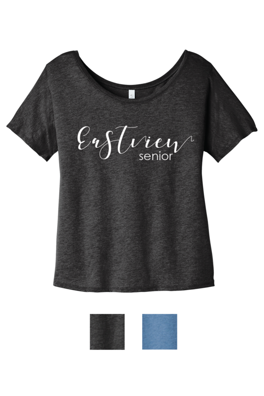 Eastview Slouchy Tee - Customizable Text