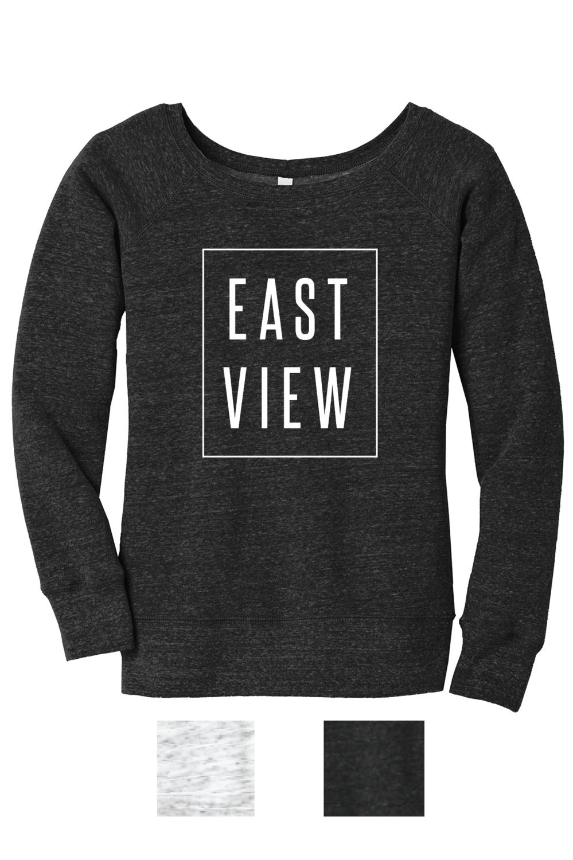 Eastview Lightning Wide Neck Sweatshirt
