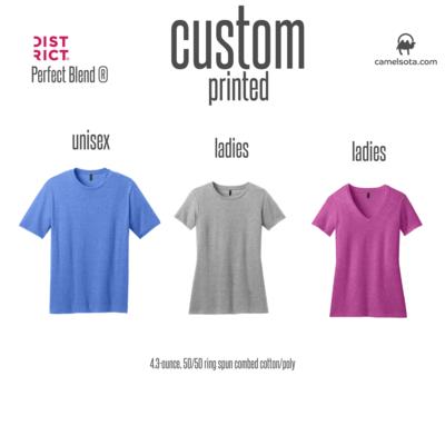Custom District Perfect Blend T-Shirt