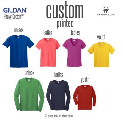 Custom Gildan 100% Cotton T-Shirt