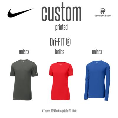 Custom Nike Dri-FIT Cotton/Poly Tee