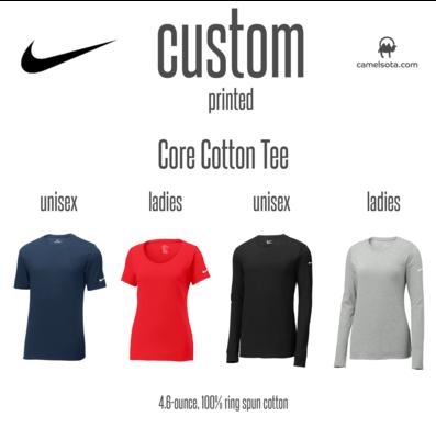 Custom Nike Core Cotton Tee