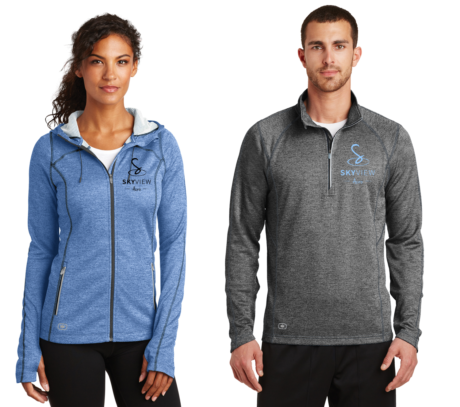 OGIO® ENDURANCE Pursuit 1/4-Zip - Skyview Acro Gym
