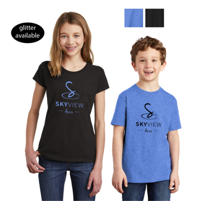 Youth Crewneck Shirts - Skyview Acro Gym