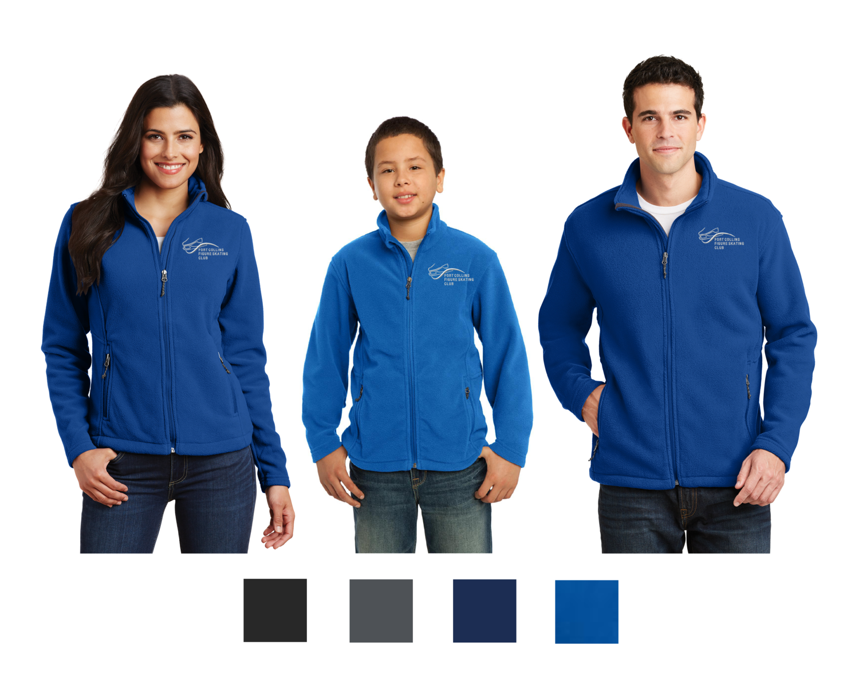 Embroidered Port Authority® Fleece Jacket - FCFSC