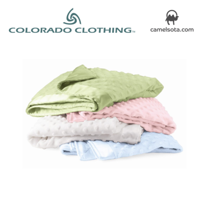 Custom Embroidered Cuddle Fleece Blanket by Colorado Clothing