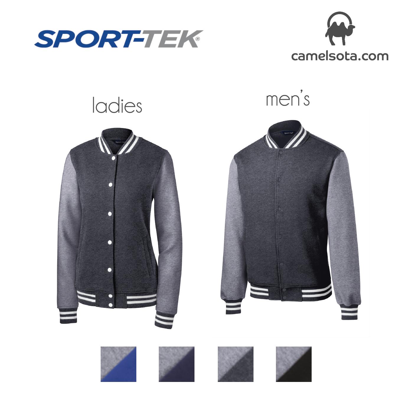 Custom Sport-Tek Fleece Letterman Jackets