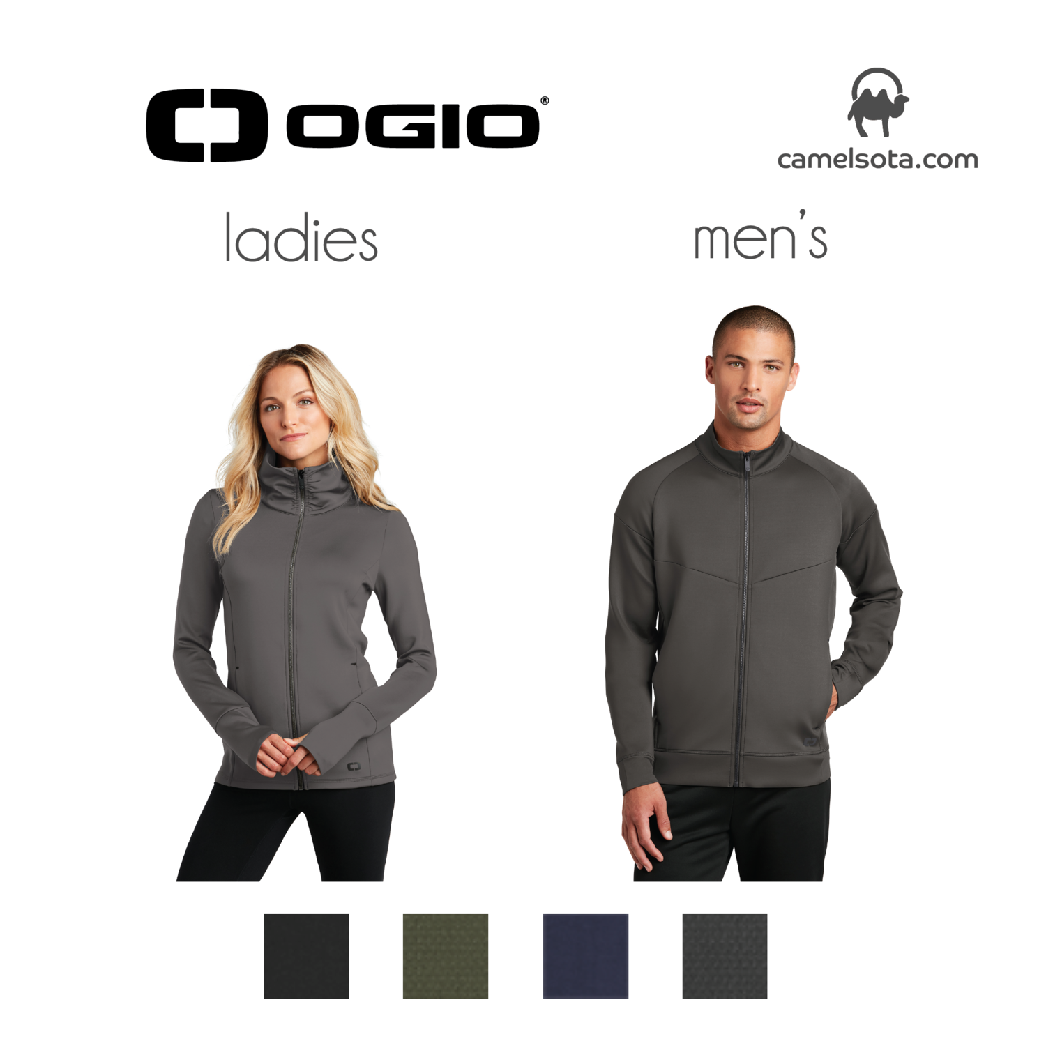 Custom OGIO ENDURANCE Modern Performance Full-Zip