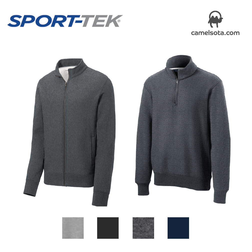 Custom Sport-Tek Super Heavyweight 1/4 and Full Zip Sweatshirts