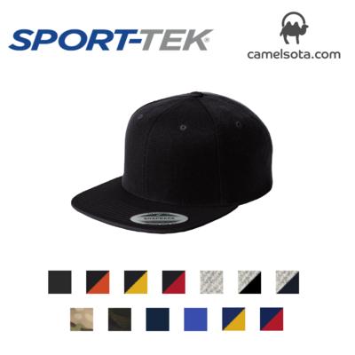 Sport-Tek YuPoong Flat Bill Snapback Cap
