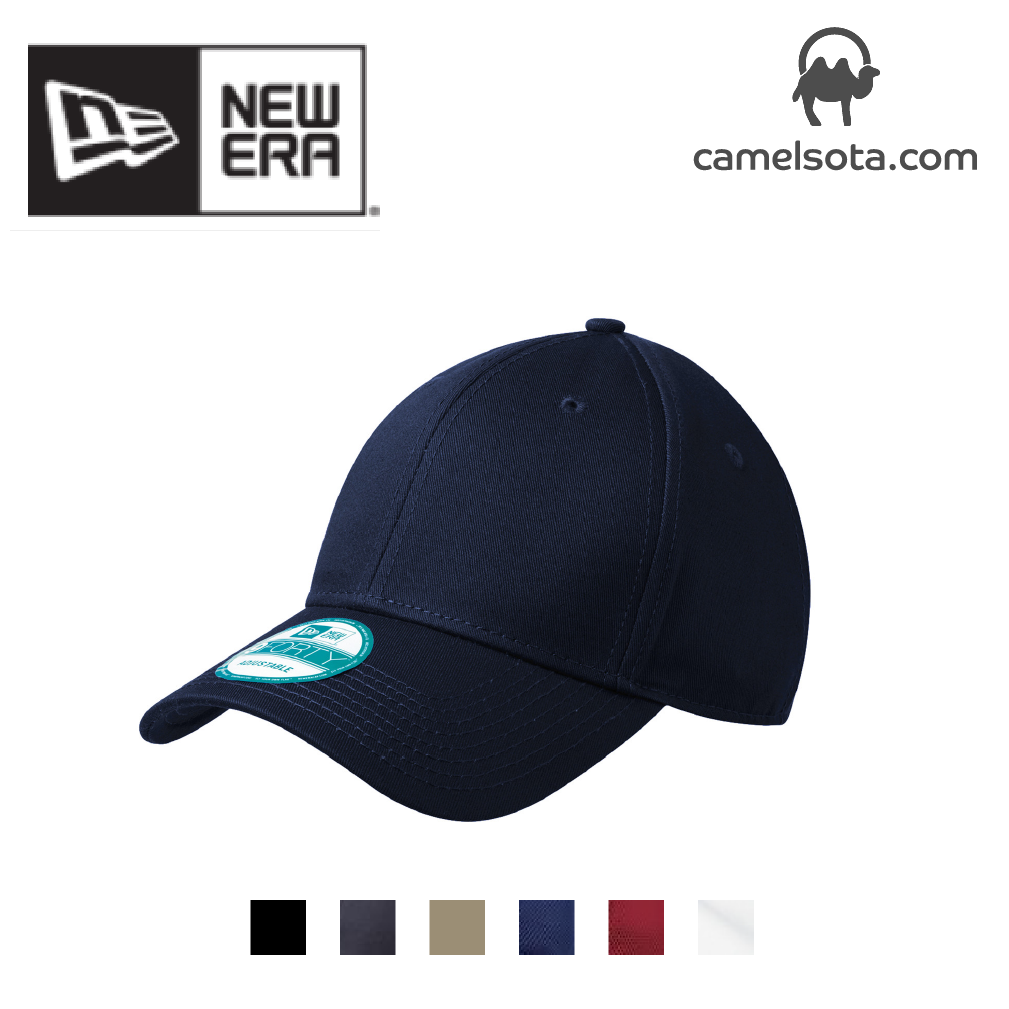 Custom Embroidered New Era - Adjustable Structured Cap