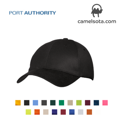 Custom Embroidered Port & Company - Six-Panel Twill Cap