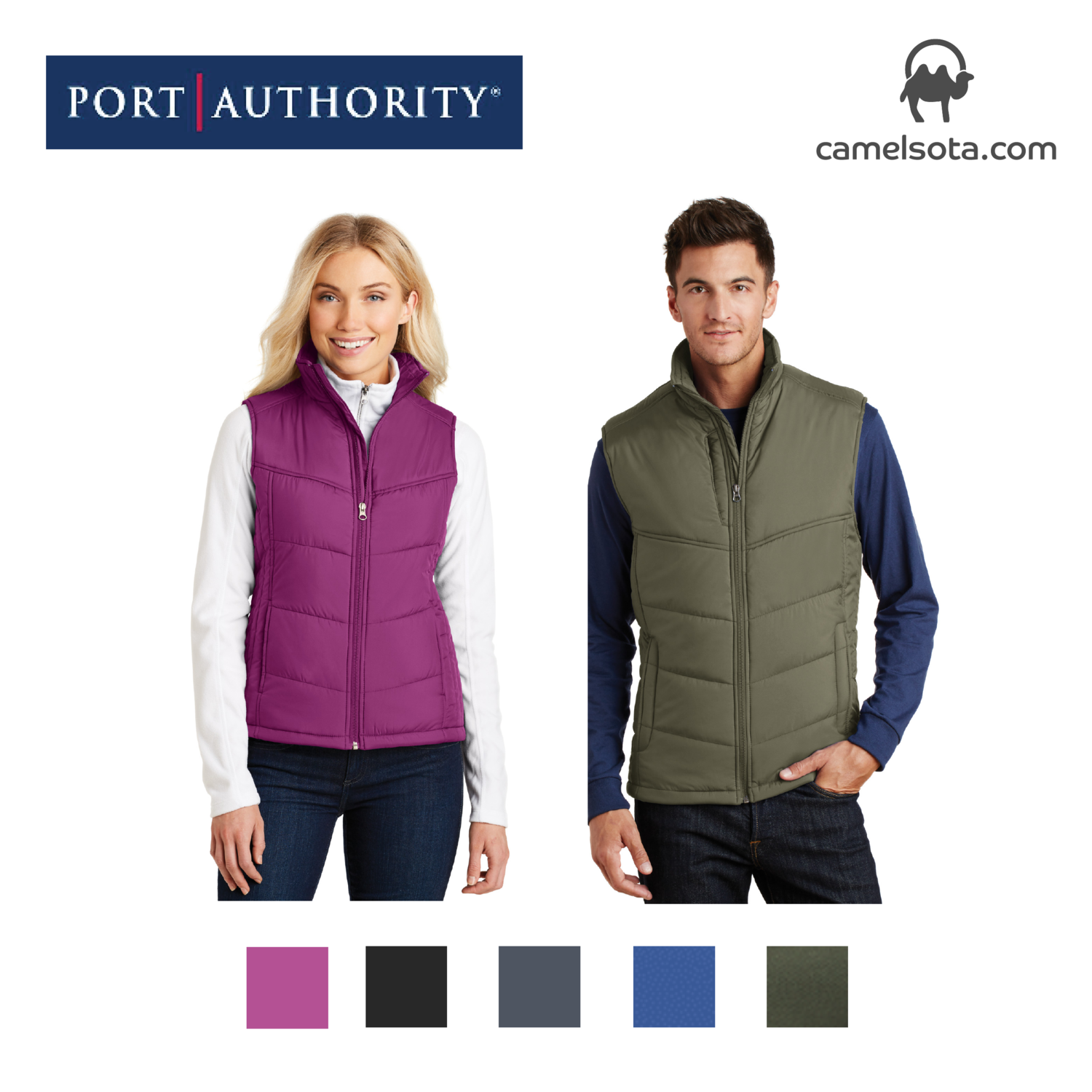 Custom Port Authority Puffy Vest