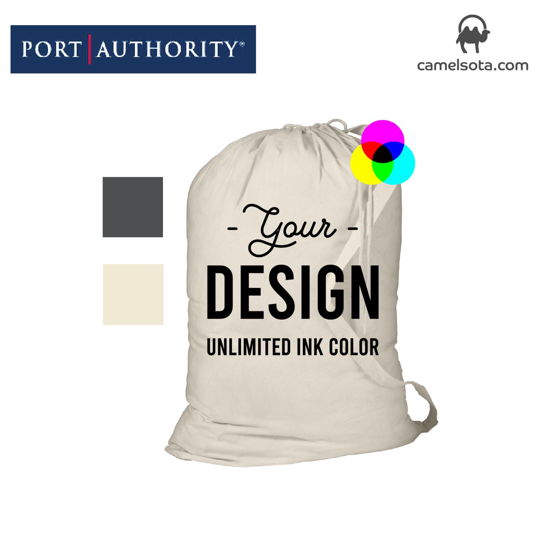 "Custom Printed Port Authority - Laundry Bag 33.5""x23.75"""