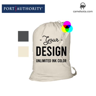 Custom Printed Port Authority - Laundry Bag 33.5