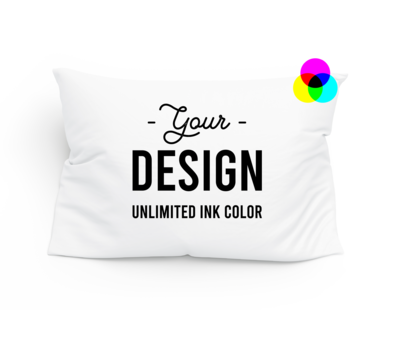 Custom Printed 100% Cotton Pillowcase