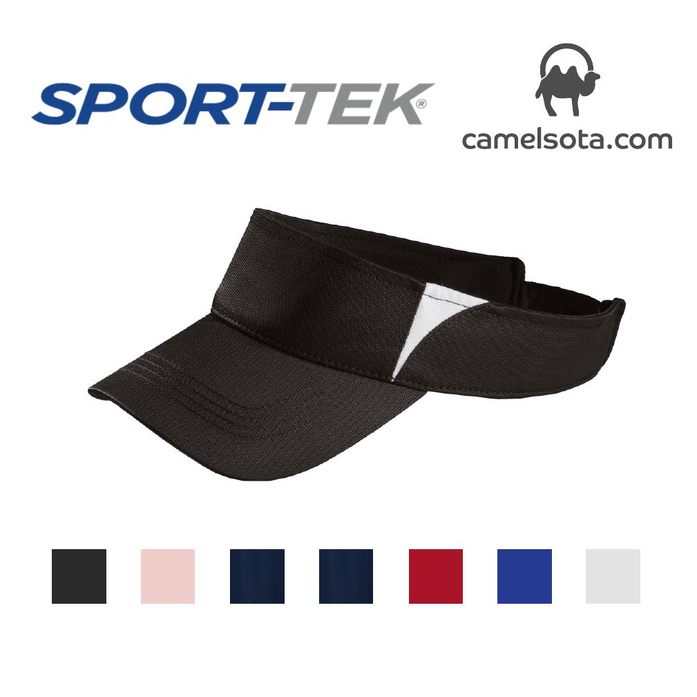 Custom Embroidered Sport-Tek® Dry Zone® Colorblock Visor