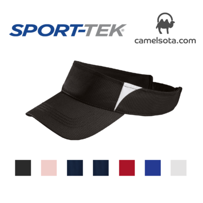 Custom Embroidered Sport-Tek® Dry Zone® Colorblock Visor