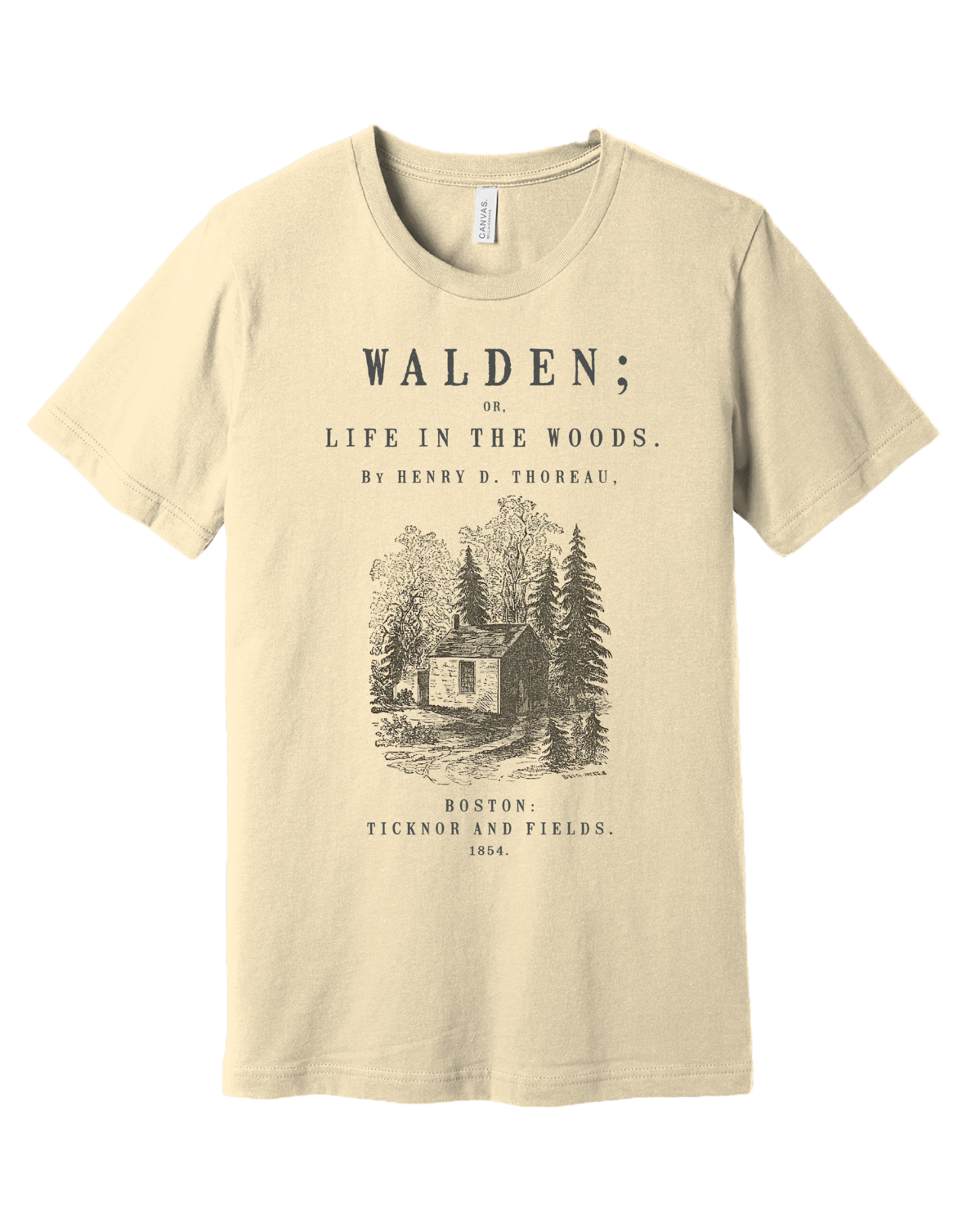 Walden by Henry David Thoreau Shirt