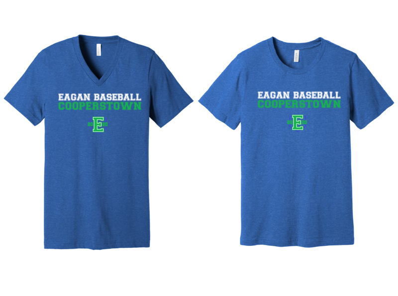 2020 Eagan Cooperstown Team Shirt - Adult and Youth