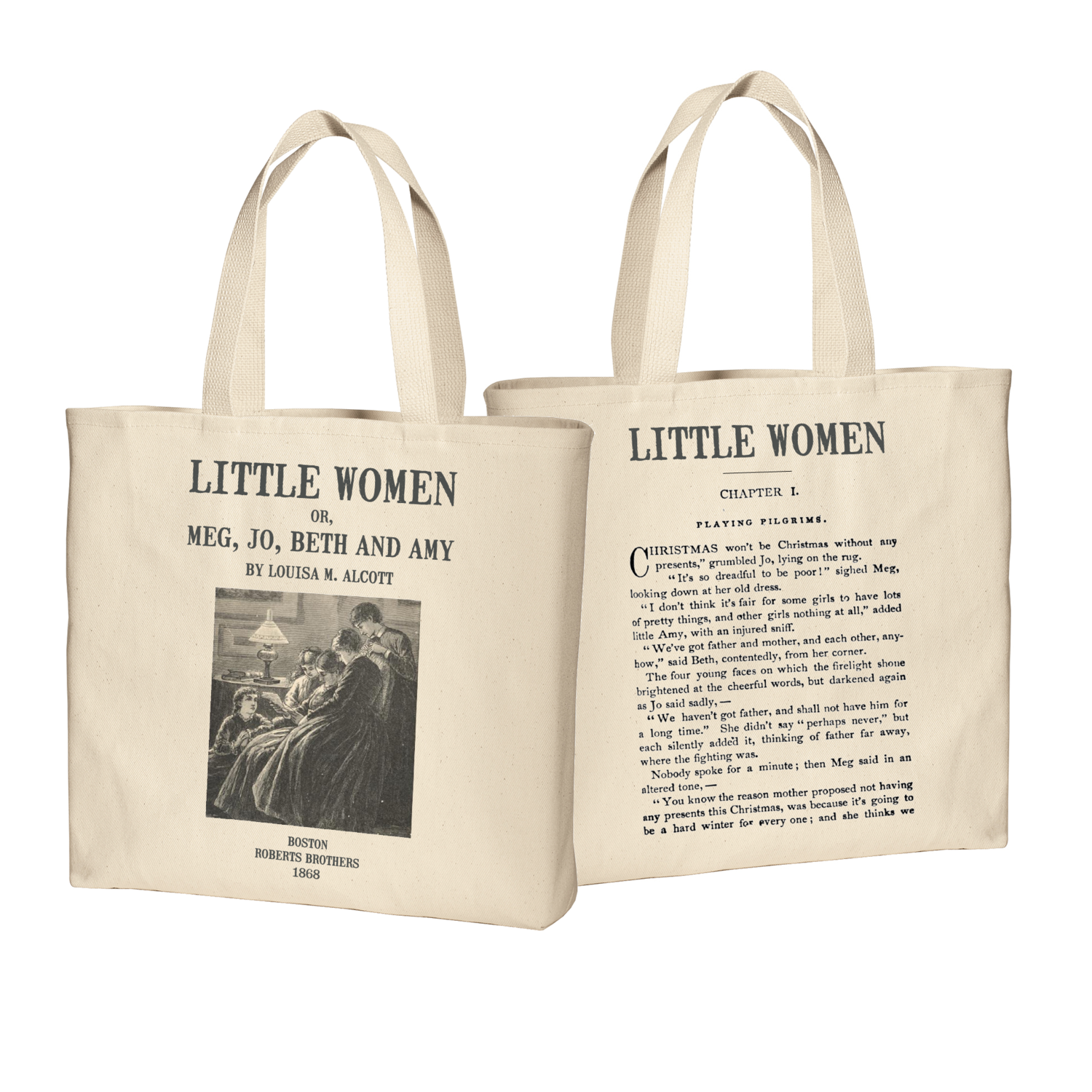 Little Women by Louisa M. Alcott Tote