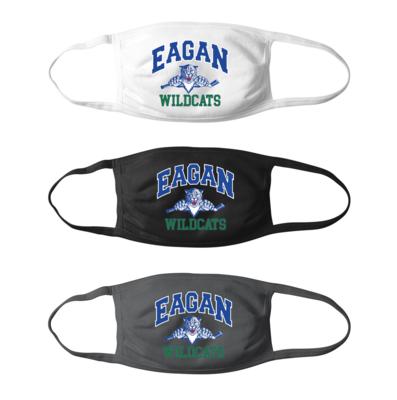 Eagan Wildcats Hockey Mask - Adult
