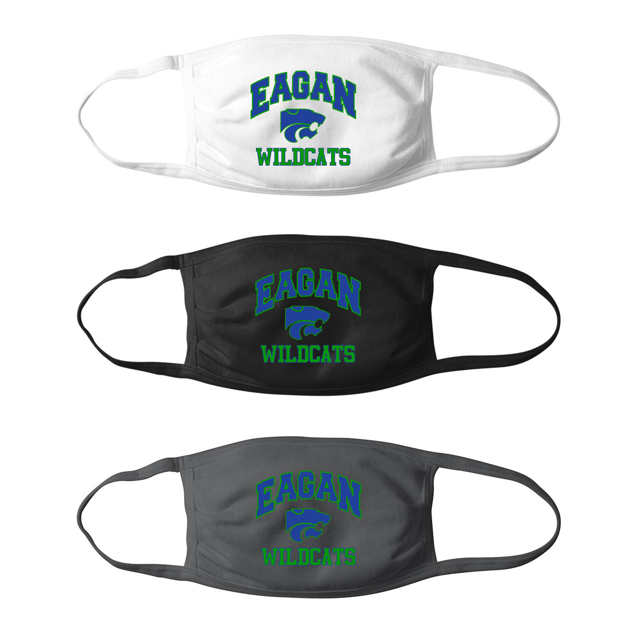 Eagan Wildcats Mask - Adult