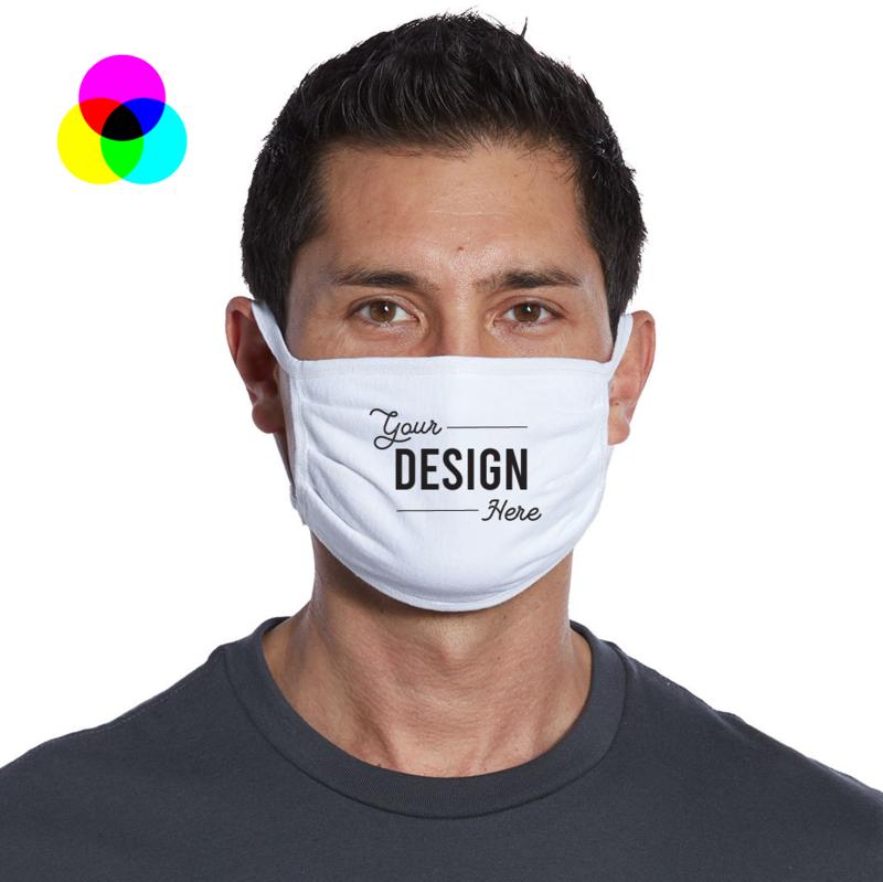 Custom Printed Mask - Adult - Min Quantity 20