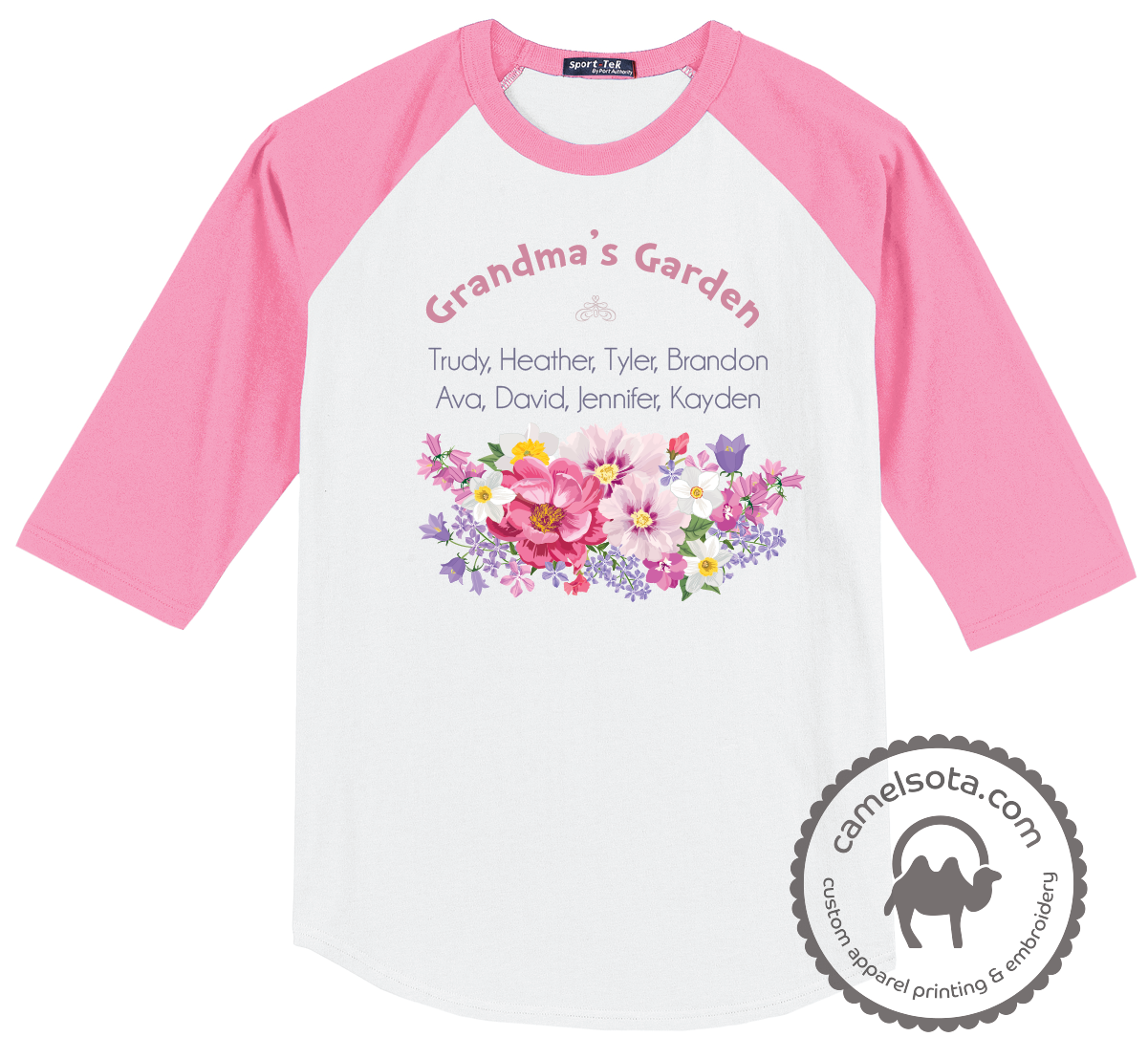 Grandma's Garden Flowers Shirt