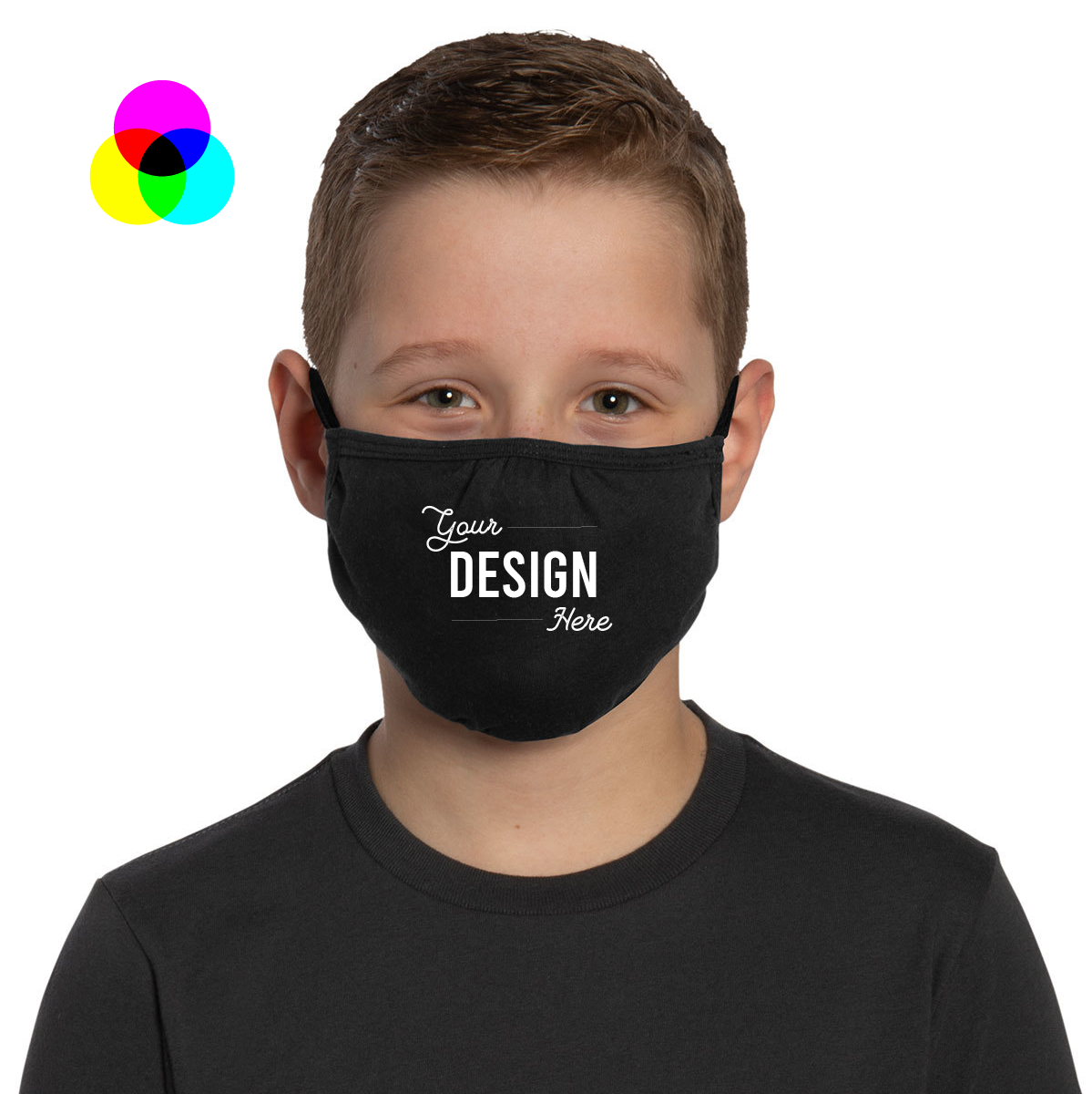 Custom Printed Mask - Youth - Min Quantity 20