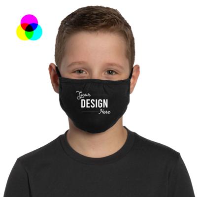Custom Printed Mask - Youth - Min Quantity 20