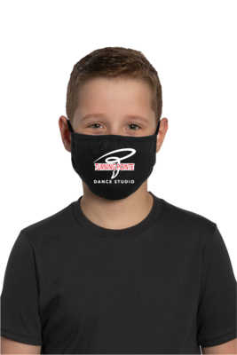 Turning Pointe Dance Studio Mask - Youth
