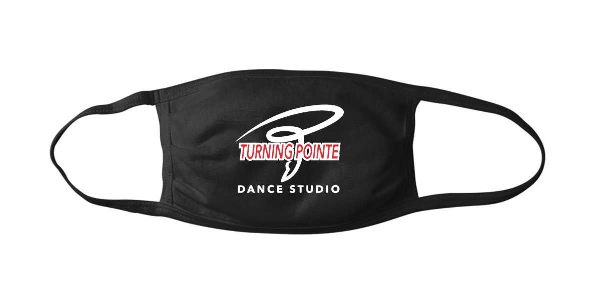 Turning Pointe Dance Studio Mask - Adult