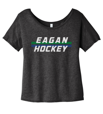 Eagan Hockey Women's Slouchy Triblend Tee