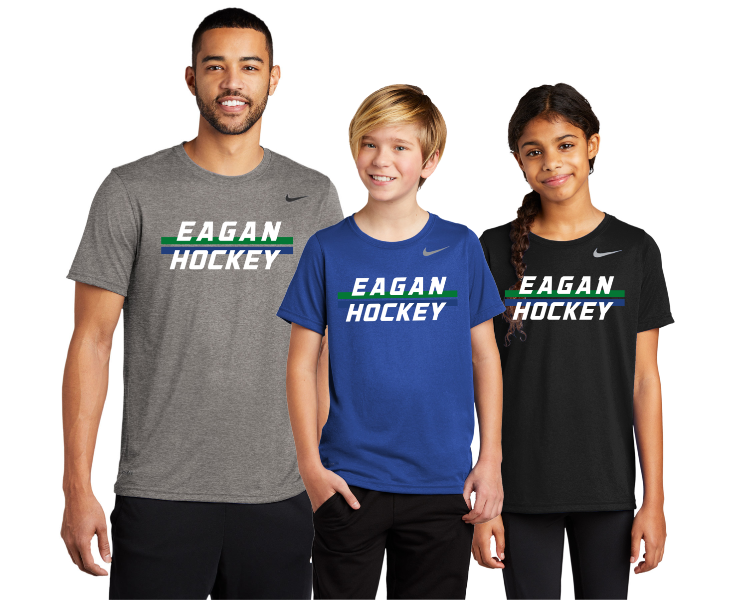 Eagan Hockey Nike Legend Dri Fit Shirts - Adult and Youth