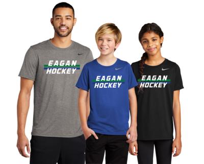 Eagan Hockey Nike Legend Dri Fit Shirts - Adult and Youth