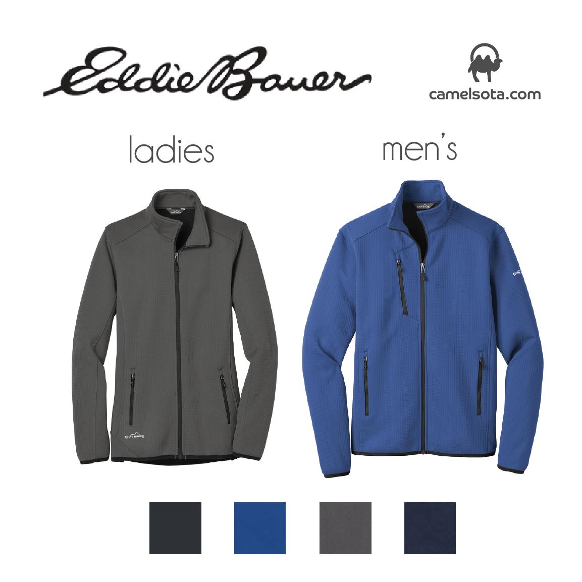 Custom Eddie Bauer Dash Full-Zip Fleece Jacket